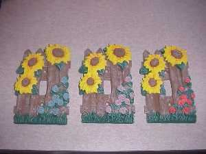 Beautiful Hand Painted Sunflower Switch Plates More inside!