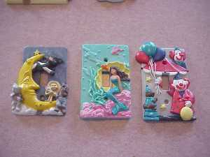 Beautiful Hand Painted Variety of Children's Light Switch Covers!